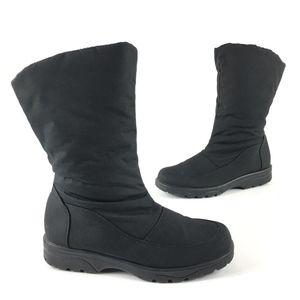 Toe Warmers - Black Cloth Winter Boots